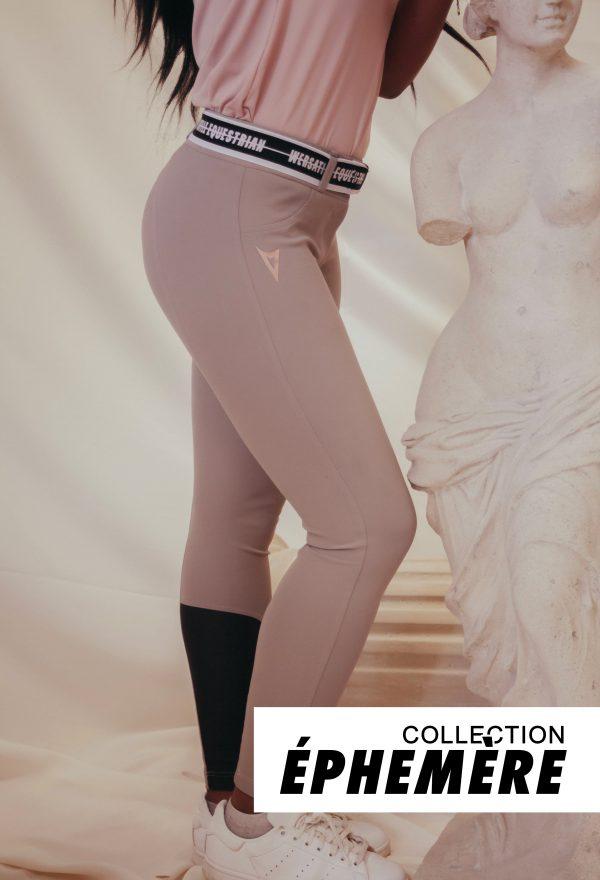 Pantalon 'Cosmopolite' – Tourterelle